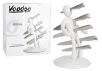 Voodoo White Knife Block by Raffaele Iannello