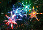 40 Multicolour LED Bright Star Lights