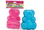 Silicone Teddy Cake Mould in 2 Colours