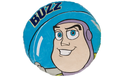 Disney Toy Story Buzz Lightyear Round Cushion