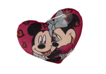Mickey and Minnie Cuddles Love Heart Cushion 20cm