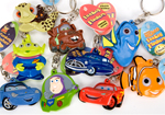 10pc Disney Keychain Flashers Party Bag Fillers
