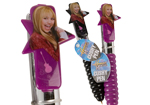 Party Bag Fillers 10pc Disney Hannah Montana Cushy Pen in 2 Colours