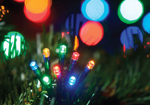 Christmas Lights 40 Multicolour LED Twinkle Lights