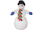 Giant Inflatable Snowman 8 Metres Tall