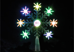 Colour Changing LED Light Tree Top Star