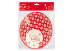 2 Packs of Christmas Paper Plates