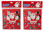 2 Packs of Red Kids Father Christmas Character Napkins