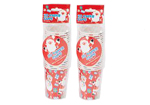 Red Kids Father Christmas Character Paper Cups