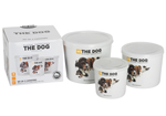 The Dog Set of 3 Ceramic Canisters