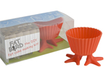2 x Fat Bird Feeder with Silicon Silly Feet Cupcake Mould